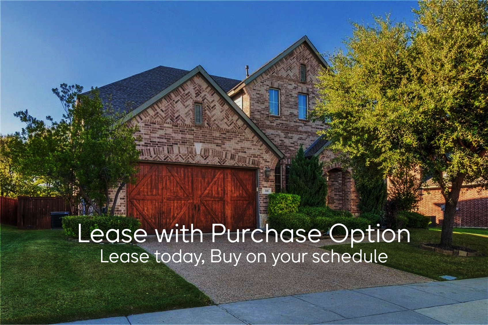 Lease with Purchase Option